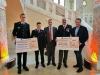 Spendenübergabe der Bürgerstiftung Stadt Stein für die Jugendfeuerwehr Stein